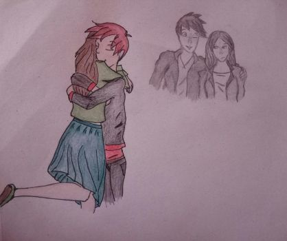 Some Jamily couple drawing  by CartoonLover20