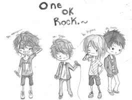 ONE OK ROCK by kiddycatkyo