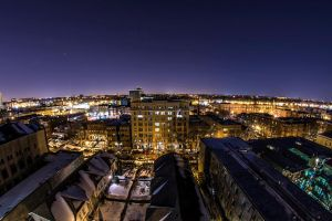 Chicago at Midnight by aheathphoto