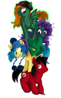Pony Tower Of Dooom by Shellsweet