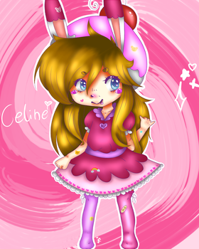 -Celine with adhesives!- by JulyCream