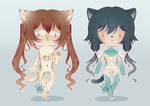 [CLOSED] Leftover Anthro Adopts by WanNyan