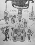 The Hitler of Cave Story by xandermartin98