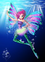 Sirenix Fairy of Zenith by Galistar07water