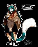 BAAST character design by ELK64