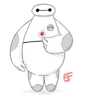 #6 Baymax by Sketching-Sketches
