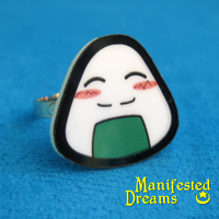 Riceball Ring by ManifestedDreams