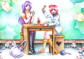 romantic cafe by leinef
