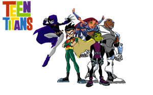 Teen Titans: Group Photo by imperial96