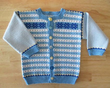 Cotton Cardigan for Toddler by ToveAnita