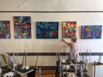 Latest exhibition at Provisions restaurant by karincharlotte