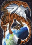 The world-engulfing Tiger by BlackChaos666
