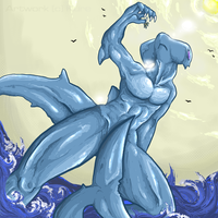 SHARK ATTACK by Demons-Anonymous