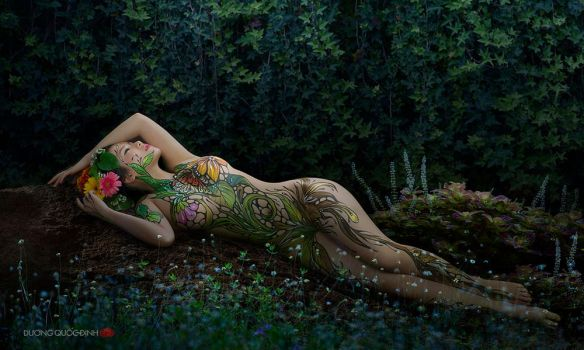 Redsvn-DQD-body-painting-II-06 by NGUYENTHIKIEUOANH
