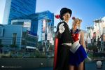 Sailor Moon - In the City by nihilistique