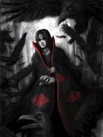 The Dark Knight of Konoha - Uchiha Itachi by Penator