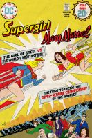 Supergirl Vs Mary Marvel by AlanSchell