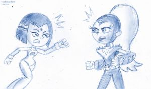 Sketch Fight Go! by ScoBionicle99