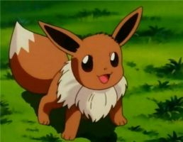 Anime Eevee by lldeland