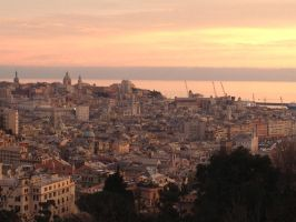 Genova Panorama by TheStarRover