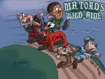 Ride Riffs Title Card, Mr. Toad's Wild Ride by SteLo-Productions95