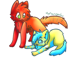 chibi shaded 1 by Freckled-Kat