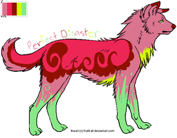 Perfect Disaster(Palette Adopt) by Rainbow-Lava
