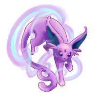 Espeon by AlmightyHighElf