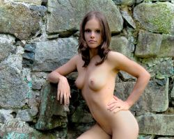 Against a stone wall! by madlynx