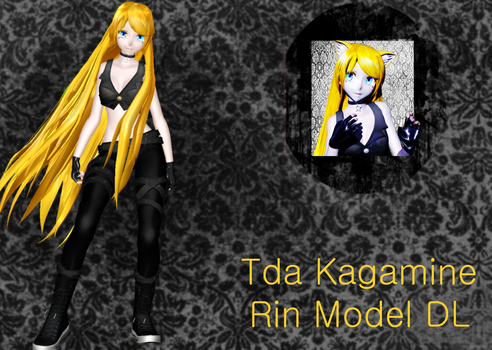 Tda Kagamine Rin Model DL by YuukineKA