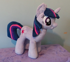 Twilight Sparkle Plushie by Pinkamoone