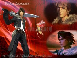 Squall wallpaper by Sasha-Ne123