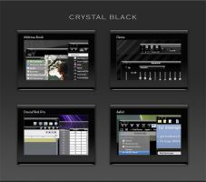 Crystal Black Theme Released by marsmuse