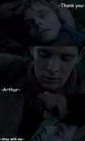 In my time of dying - Arthur by FreakyFangirl97