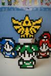 The 3 Goddesses and the Triforce by ProfMadness