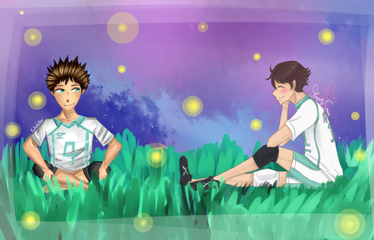 IWAOI collab with Mazuto by Cookieteller