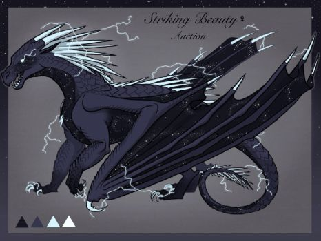 IceWing Auction [CLOSED] by Lichenpatch