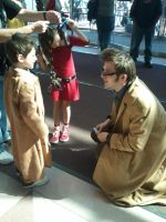 lil 10th doctor and big 10th doctor by JakTheRipper13