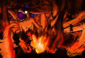 Attack on Konoha by Royle-McCulloch