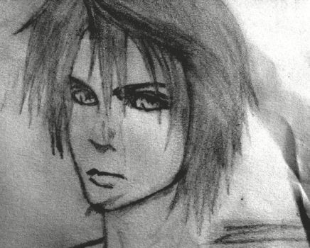 squall leonhart by mjuy