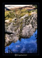Sierra reflection by kayaksailor