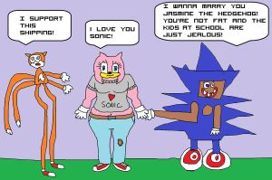 JASMINE THE HEDEHOG GETZ A BOYFREND PLUS ITS SANIC by unimpeachable