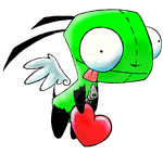 Gir Love Angel (remake) by LilPumpkinKing