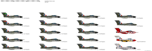 Gloster Javelin by darthpandanl