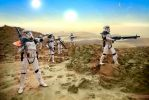 Sandtroopers on Tatooine by andrewhitc