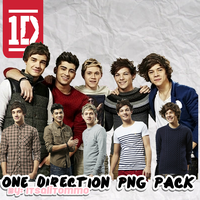 One Direction PNG Pack by itsalitommo