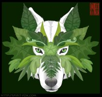 Green Wolf II by Naryu