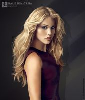 Claire Holt by Halisson