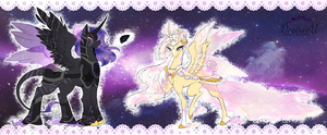 Custom Celestial Designs by ChocoberryLollipop