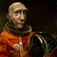 Tony The Astronaut by Karelias